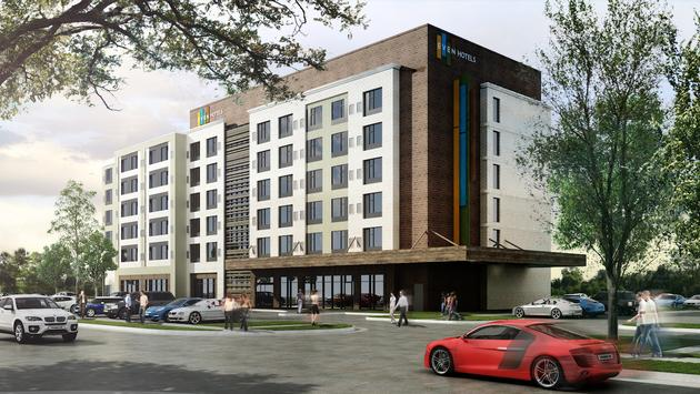 Rendering of new EVEN Hotel Atlanta