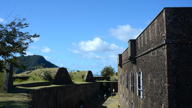 Le fort Napoléon aux Saintes, en Guadeloupe.
