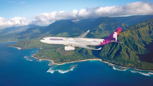 Tunnels Beach (Photo via Hawaiian Airlines)
