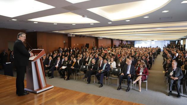 Reunión anual de Embajadores y Cónsules en la Secretaría de Relaciones Exteriores