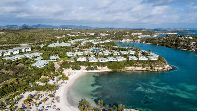 Aerial view of The Verandah Resort & Spa, Antigua