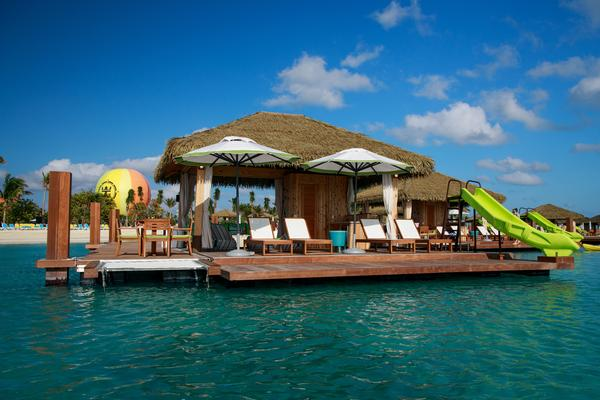 Coco Beach Club With Floating Cabanas