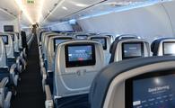 Delta airplane interior (Photo via Delta)