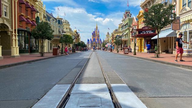 Disney World Magic Kingdom Main Street