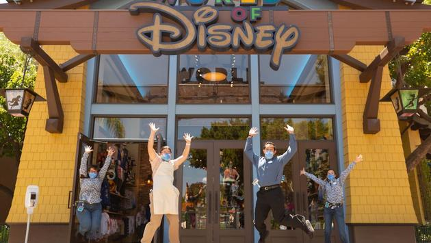 New masks for employees at Disney Parks.