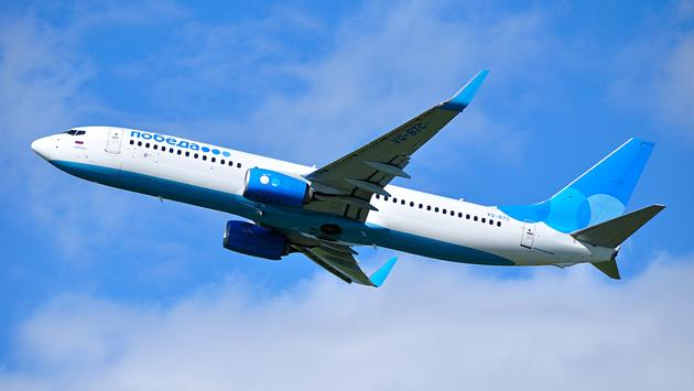 Pobeda Airlines Boeing 737