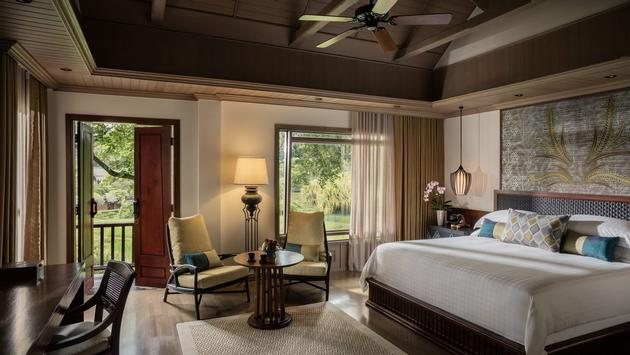 Guest room at the Four Seasons Resort Chiang Mai