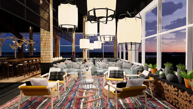 Restaurant Lounge Club Med Quebec Charlevoix