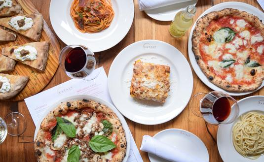 Culinary assortment from Eataly at Park MGM