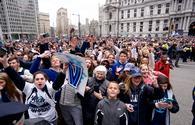 Villanova Wildcats' championship parade in Philadelphia