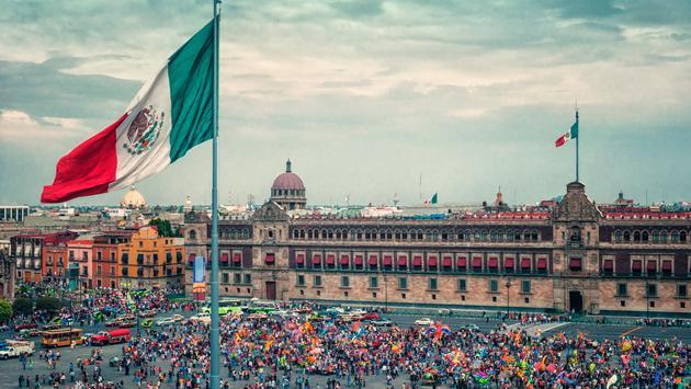 Zocalo, mexico city, square, festival