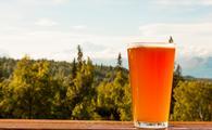 Amber beer in Alaska