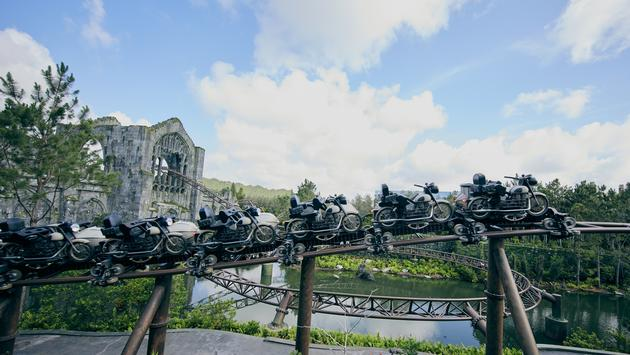 Hagrid's Magical Creatures Motorbike Adventure at Universal Orlando