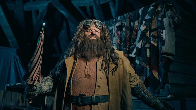 Hagrid's Animated Figure for Hagrid's Magical Creatures Motorbike Adventure at Universal Orlando