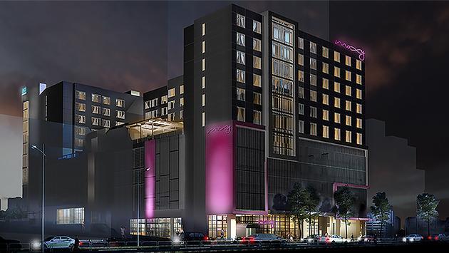 Dual-branded AC Hotel Atlanta Midtown and Moxy Atlanta Midtown