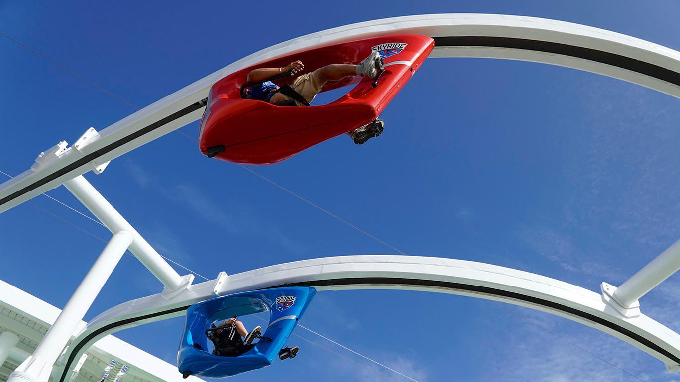 Carnival Vista SkyRide Attraction Temporarily Closed
