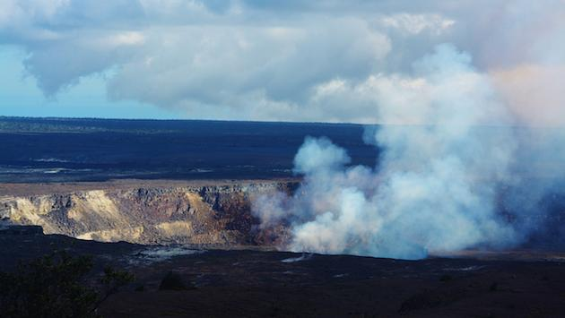 Kilauea Volcano on Hawaii's Big Island