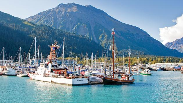 Boats in Seward