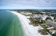 Beach in Siesta Key, Florida