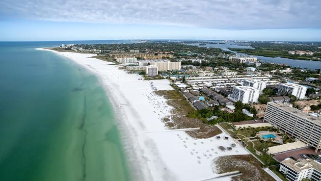 Beach in Siesta Key, Florida