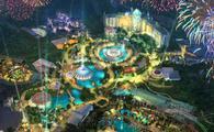 A rendering of Universal's Epic Universe, Universal Orlando Resort