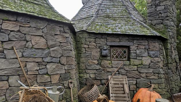 Hagrid's Hut in Hagrid's Magical Creatures Motorbike Adventure at Universal Orlando Resort