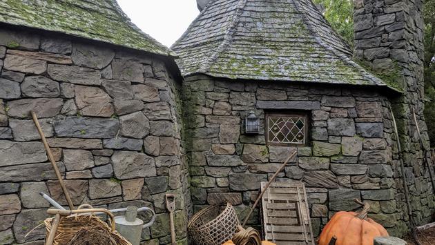 Hagrid's Hut in Hagrid's Magical Creatures Motorbike Adventure at Universal Orlando Resort