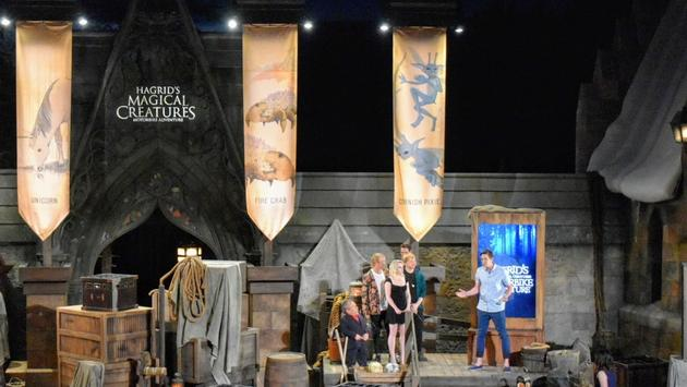 Hagrid's Magical Creatures Motorbike Adventure Opening Ceremony at Universal Orlando Resort