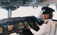 African american, female, pilots, pilot, cockpit