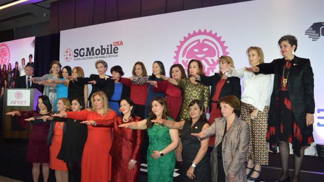 La presidencia de la Asociación Femenina de Ejecutivas de Empresas Turísticas (Afeet).