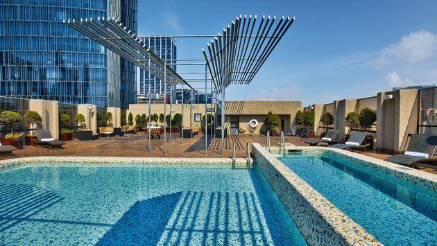 pool, rooftop, galeria plaza reforma, hotel