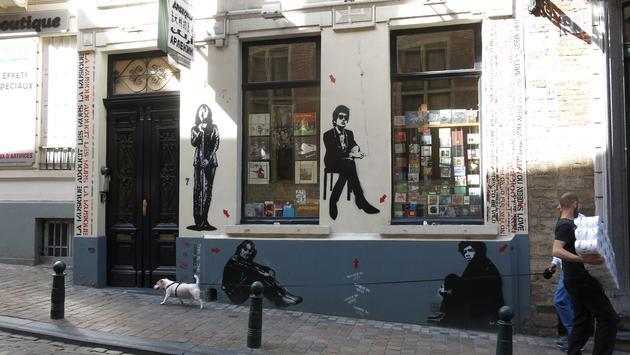Trendy Brussels, Belgium