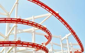 Roller Coaster at an amusement park