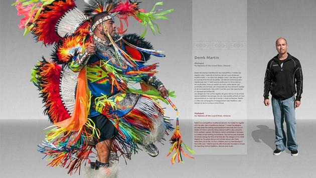 Mohawk Six Nations of the Grand River, Ontario by Derek Martin