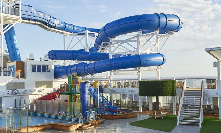 Norwegian Joy's Aqua Park, Norwegian Cruise Line