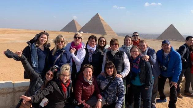 Tours Chanteclerc en Égypte