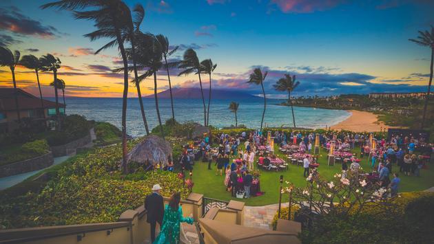 Four Seasons Maui Wine & Food Classic event.