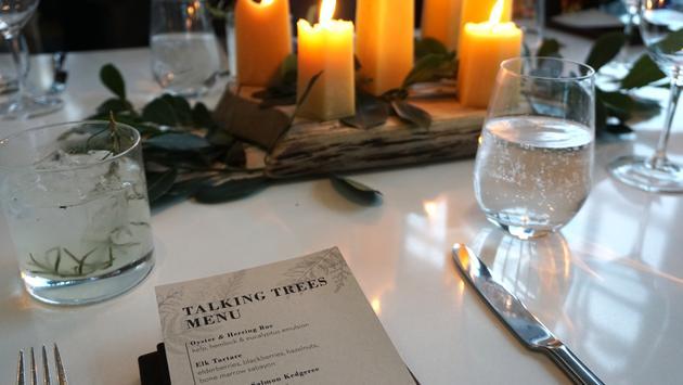 Talking Trees Dinner