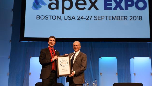 Calin Rovinescu récompensé par l'APEX