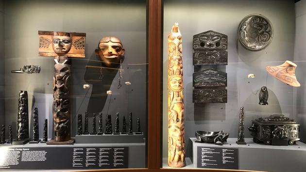 Haida Now exhibit