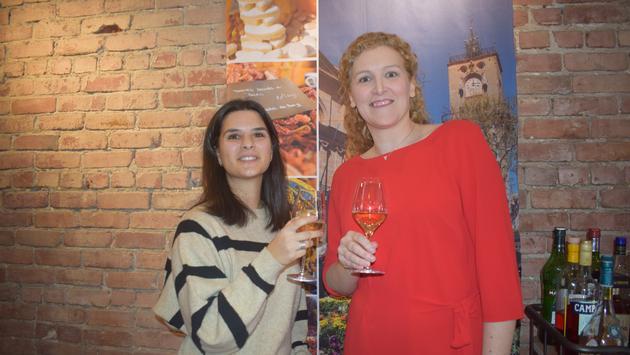 Marlène Mangani et Mélanie Paul-Hus d'Atout France Canada