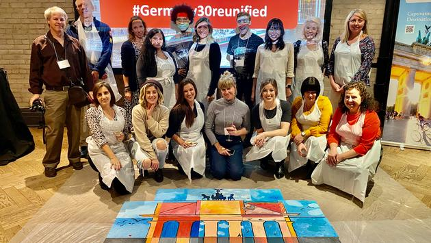 Paint night with the German National Tourist Office