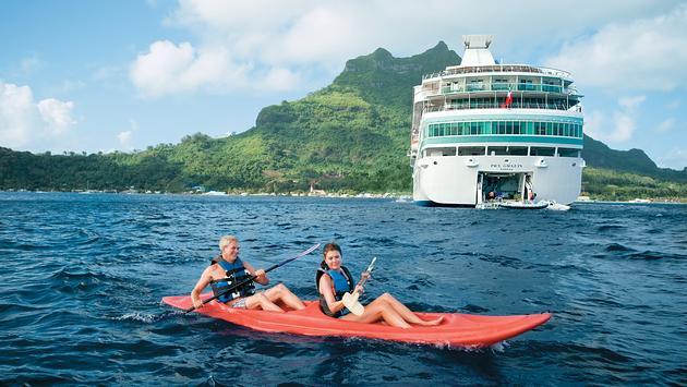 Paul Gauguin Cruises, Kayak