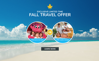 Fall for Beaches: Exclusive Fall Travel Offer