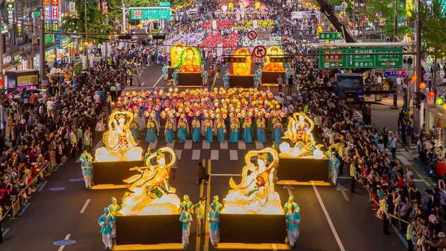 Annual Lantern Parade in Seoul, South Korea