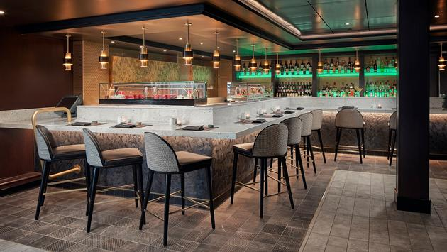 Norwegian Sky - Pinnacle Lounge and Sushi Bar