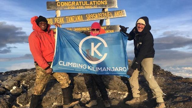 Climbing, Kilimanjaro, Africa, mountain