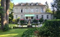 Hotel Belle Epoque from the garden