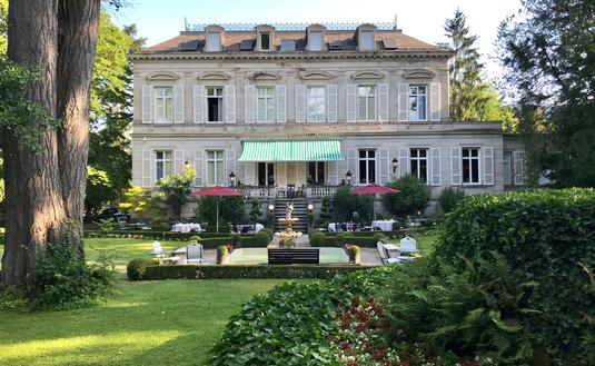 Hotel Belle Epoque from the garden