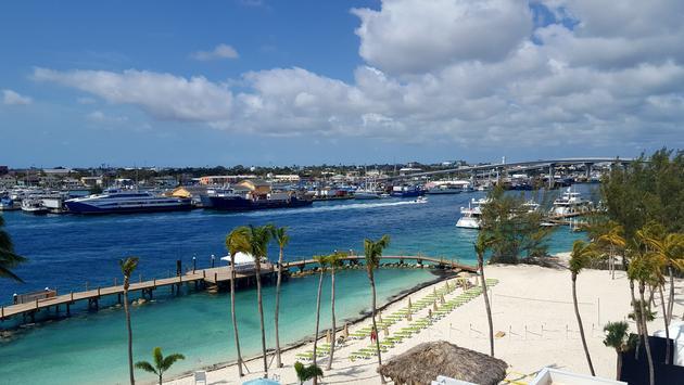 Nassau Bahamas harbor